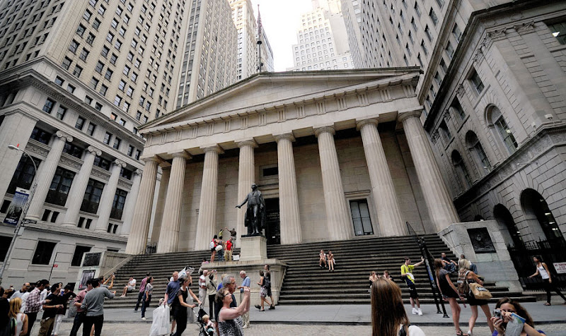 Federal Hall. Wall Street. NYC