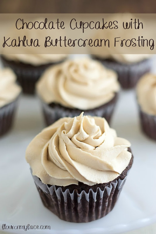 Chocolate-Cupcakes-with-Kahlua-Buttercream-Frosting-flouronmyface