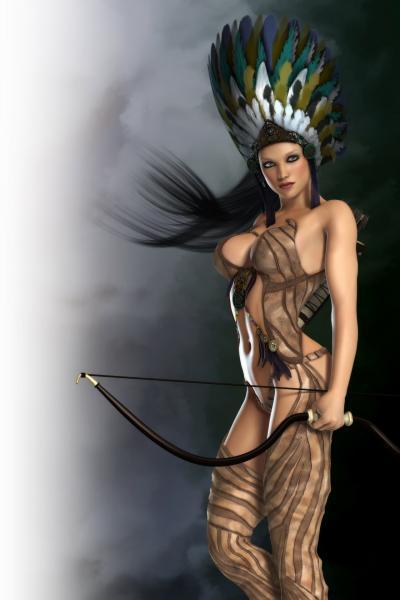 Sexy Archer Girl, Warrior Girls 1