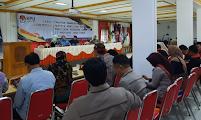 KPU Ngawi Mengikuti Rakor Tahapan Pembentukan PPK