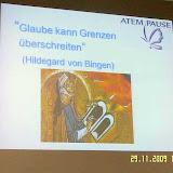 Atempause November 2009 - Hildegard von Bingen