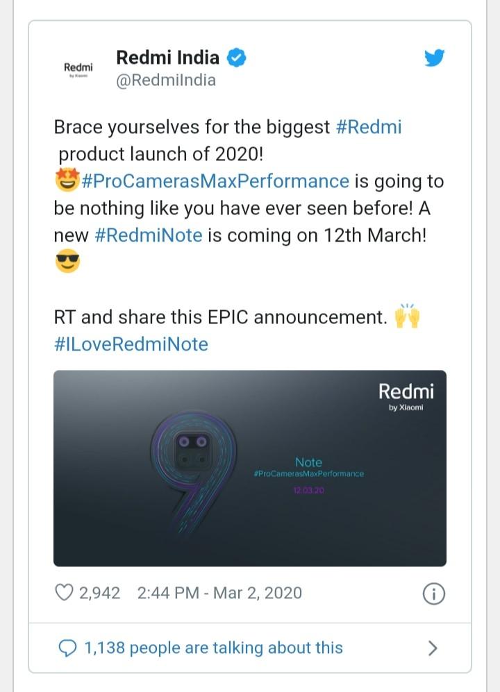 Redmi Note 9 Pro price in Bangladesh