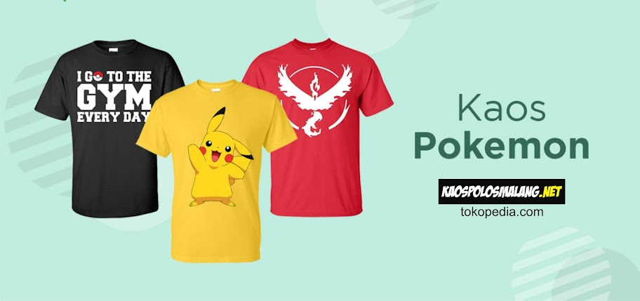 kaos pokemon malang
