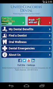 United Concordia Dental Mobile - screenshot thumbnail