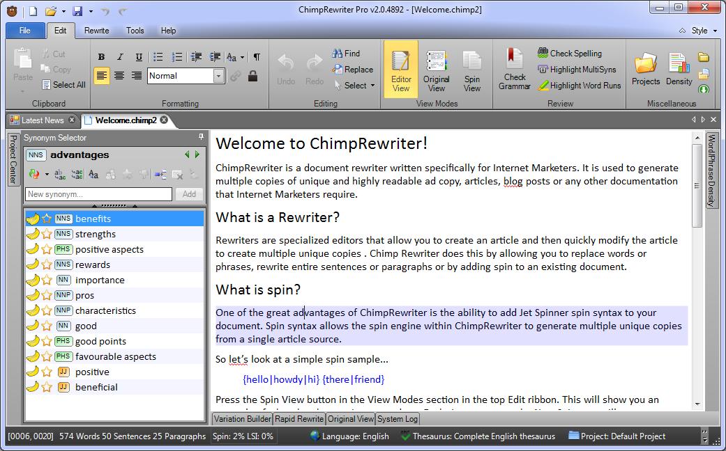 chimp rewriter pro crack