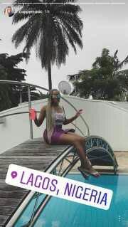 Billionaire daughter, Ifeoluwa Otedola, shows off father's Ikoyi mansion (Photos)