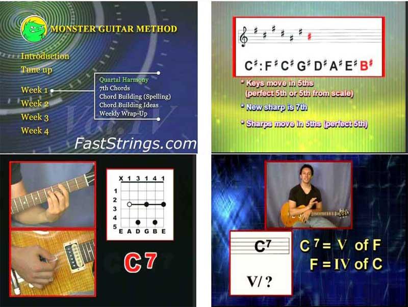Monster Guitar Method Vol. 4 - Intermediate/Advanced