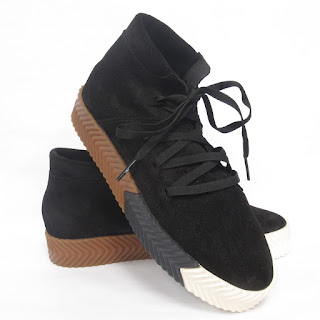 Alexander Wang X Adidas Suede Leather Sneakers