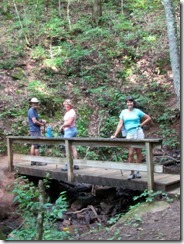 Dan, Barbra and Tricia on Bartram Trail