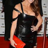 WWW.ENTSIMAGES.COM -     Lizzie Cundy  arriving at   MOBO Awards 2014 at SSE Arena Wembley October 22nd 2014Annual awards show recognising the best in urban music which is supported by HTC Photo Mobis Photos/OIC 0203 174 1069