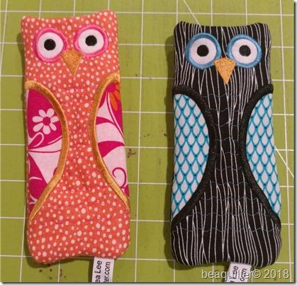 Owl cat dog eyeglass holders