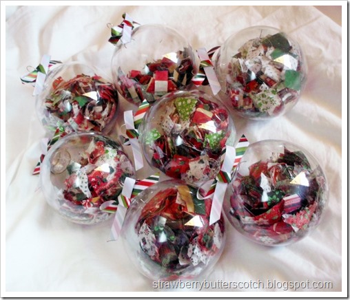 Fabric Filled Ornaments