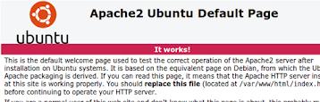 Teste Apache