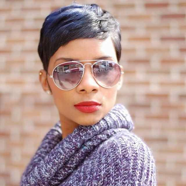 black hairstyles for short hair 2016 2017 - Real Hair