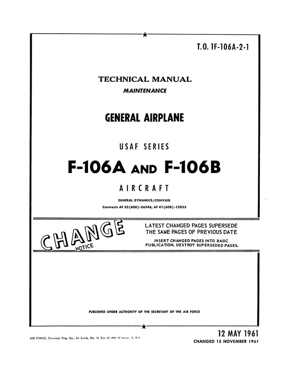 [Convair+F-106A+and+B+Maintenance+Manual_01%5B2%5D]