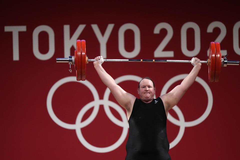 Transgender weightlifter Laurel Hubbard announces her retirement after making history