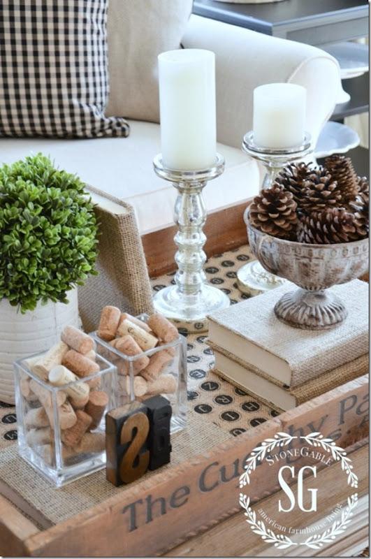 come decorare il tavolino seguendo alcune regole