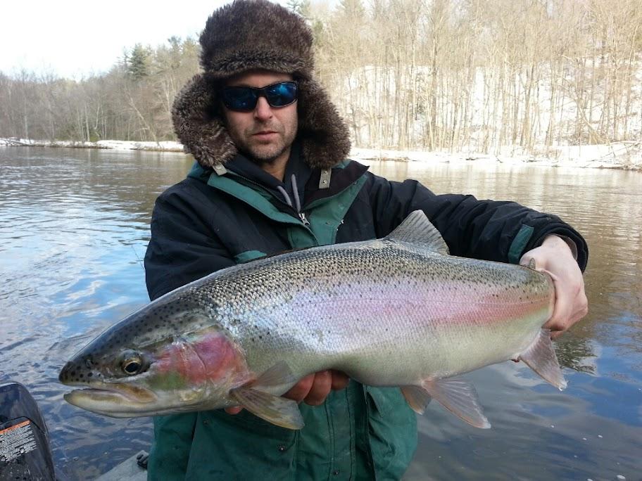 Muskegon River Steelhead Fishing Guide