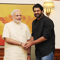 Prabhas With Politicians