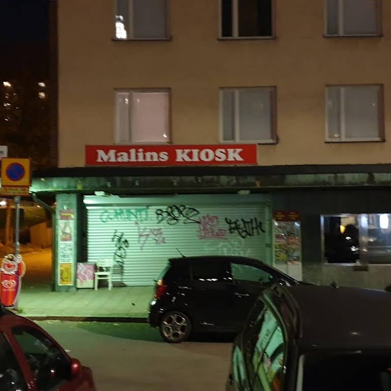malins kiosk skytteholm öppettider