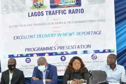 2020 Excellent Delivery in News Reportage By Lagos Traffic Radio