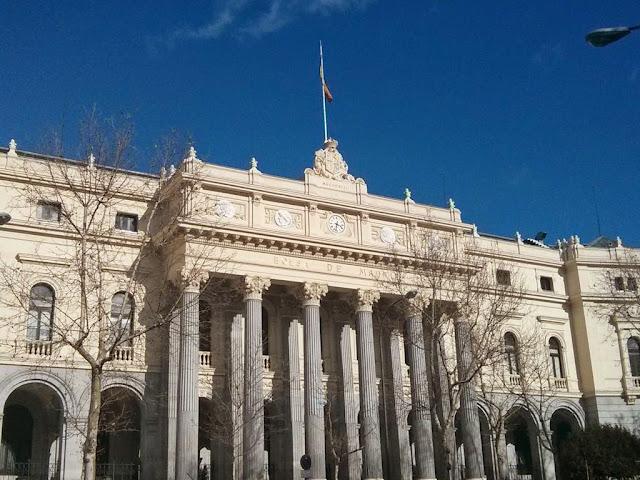 ¿Qué ver en Madrid en un día? Palacio de la Bolsa