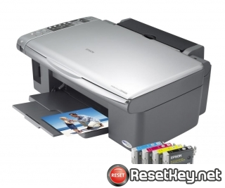 Reset Epson DX5000 printer Waste Ink Pads Counter