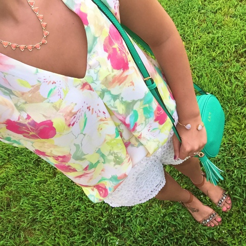 floral and lace, colorful confidence, kendra scott