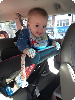 Henry In Carseat