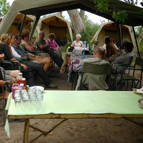 Mobile Camp in Okavango Delta