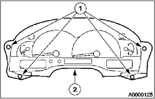 Note If Instrument Panel Or Reinforcement Is. Diagram