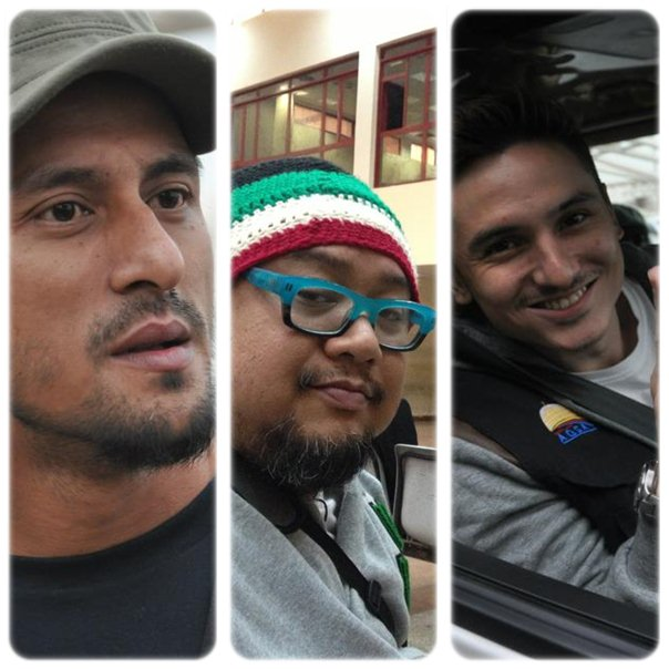 Afdlin Shauki, Bront Palarae Dan Zain Saidin Sertai Misi Ke Gaza