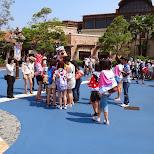 Goofy's fans at Tokyo DisneySea in Urayasu, Tiba (Chiba) , Japan