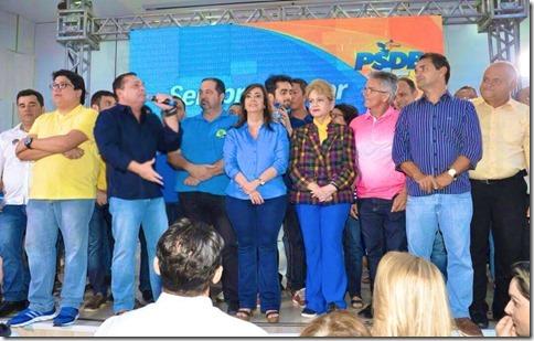 Ezequiel na convenção do PSDB2