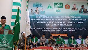 Dihadiri Ketua PW Juwanda, Pembukaan DTD Banser Angkatan ke IX PC Ansor Merangin Sukses