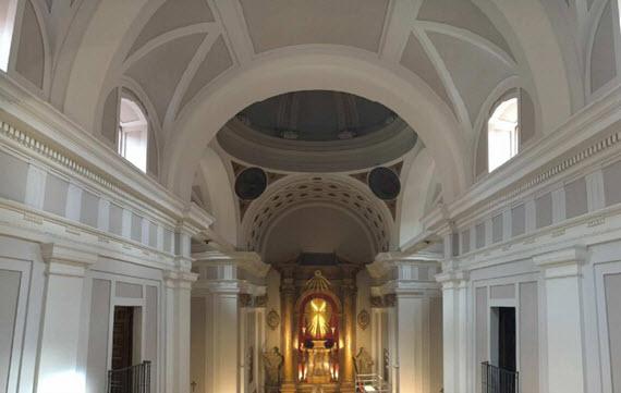 Restauración de la iglesia de las Maravillas