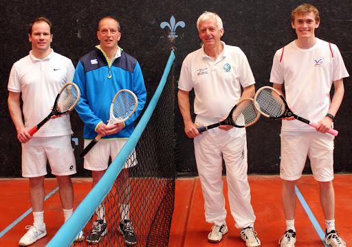 Division1 Finalists, Gary Weller & John Firth (shorts), Duncan Colquhoun & Ed Kay (not-so-shorts)