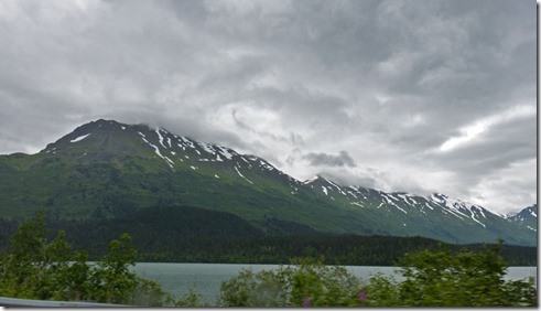 Trail Lakes near Moose Pass Alaska