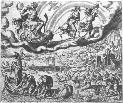 Harmen Jansz After Maarten Van Heemskerck, Emblems Related To Alchemy