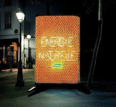Publicidad Con Naranjas
