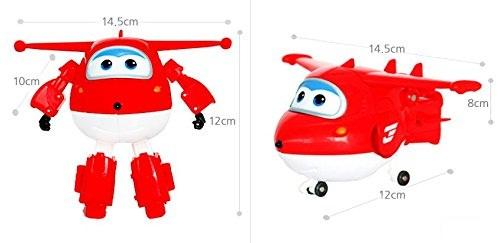 Máy bay Jett Tia chớp biến hình Robot dễ dàng và thú vị