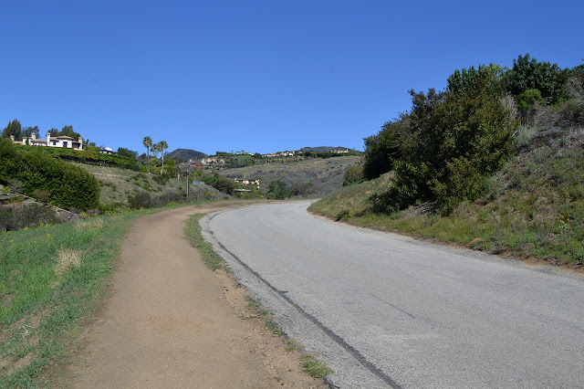 road up past estates
