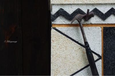 福島県 大内宿 壁 日本の風景 japan