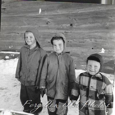 Three boys in snow DL ant