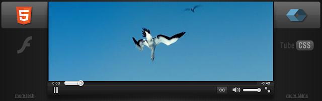 Video Player bằng HTML5 CSS3