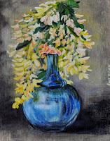 acacia vase flower