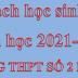 Danh sách học sinh lớp 10 NH 2021-2022