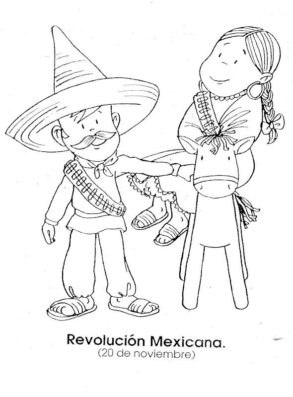 Pinto Dibujos: Revolución mexicana