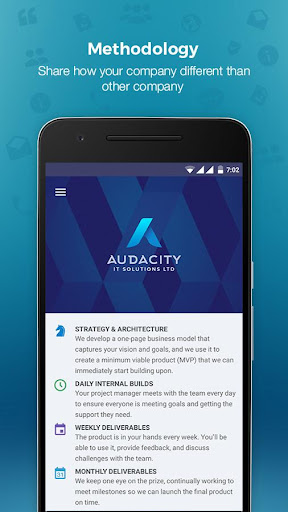 Audacity - Marketing App 1.0 screenshots 7