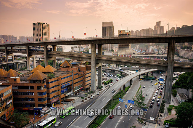 Chongqing City Photo - Traffic